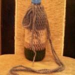 آموزش بافت ظرف بطری آب /قلاب بافی
