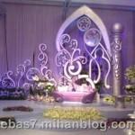 دیزاین تالارجایگاه عروس وداماد/وسایل مورد نیاز عروس