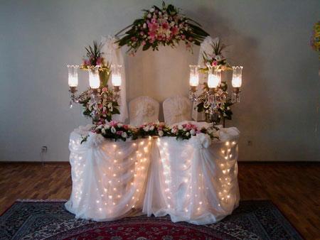 مدل هایی از جایگاه عروس و داماد/وسایل مورد نیاز عروس