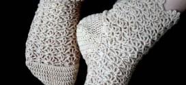جوراب قلاب بافی
