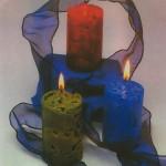 چگونه میتوان بایخ شمع ساخت /شمع سازی