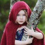 آموزش بافت شنله شنل قرمزی/بافتنی