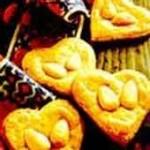 نحوه پخت قلب بادامی/شیرینی
