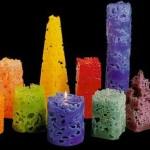 چگونه قندیل های یخ رابه صورت شمع دربیاوریم/شمع سازی