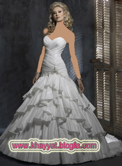 گالری عکس مدل  لباس عروس شیک/وسایل مورد نیاز عروس