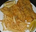 ماهی سرخ شده در خمیر