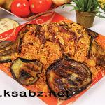 دستور پخت ترکــمنی پلــو (غذای محلی ترکمن صحرا) /آشپزی