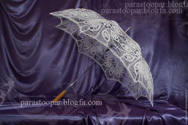 نحوه بافت چتر زیبا برای عروس /قلاب بافی