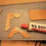 آموزش تصویری ساخت کیف پول/کارباچرم