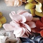 آموزش گل بنفشه پارچه ای/آموزش گلسازی