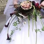 عکس هایی از مدل های زیبای دسته گل عروس/وسایل مورد نیاز عروس