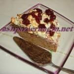 طرز تهیه کیک پیتزایی /شیرینی