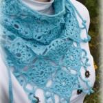 آموزش شال روسری قلاببافی /قلاب بافی
