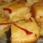 آموزش پخت کیک گوشت و مرغ/ آشپزی