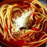 طرز تهیه سوپ اسپاگتی/  آشپزی
