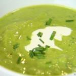 طرز تهیه سوپ نخود فرنگی/ آشپزی