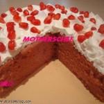 پخت کیک انار-ویژه شب یلدا/شیرینی