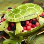 تزئین های زیبا برای هندوانه شب یلدا/میوه  ارایی