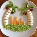 تصاویر  تزیین میوه در بشقاب/میوه ارایی