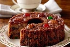 کیک میوه ای سریع و راحت/شیرینی