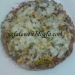 آموزش پخت  پیتزا تابه ای/آشپزی
