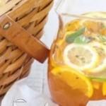 طرز تهیه نوشیدنی چای سرد با پرتقال/نوشیدنی