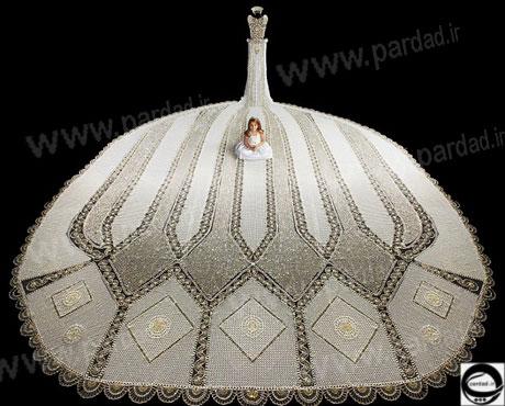 لباس عروس منحصر به فرد/وسایل مورد نیاز عروس