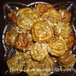 آموزش پخت شیرینی به شکل گل رز/شیرینی مخصوص عید
