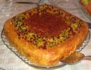 طرز تهیه تهچین گوجه و بادنجان/آشپزی