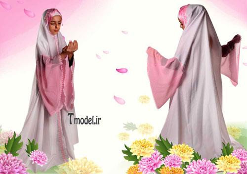مدل های جدید چادر جشن تکلیف بسیار شیک برای فرشته های زیبا/مدل لباس