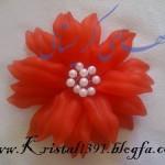 آموزش ساخت گل آزالیا/گل های کریستالی