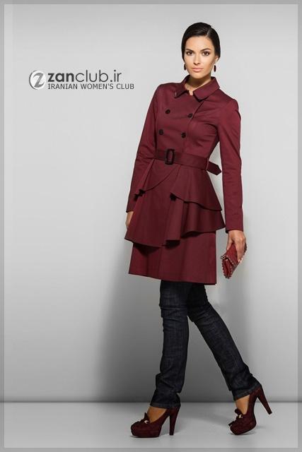 مدل مانتو جدید مدل مانتوی اسپرت/مدل لباس
