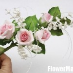 آموزش تصویری ساخت گل چینی /آموزش گل سازی