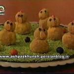 طرز تهیه جوجه های نارگیلی/ شیرینی مخصوص عید