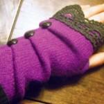 آموزش دوخت دستکش زمستانه/خیاطی