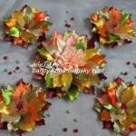 آموزش ساخت  گل پاییزی/آموزش گل سازی