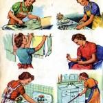 چند نکته ساده درباره خانه تکانی آسان و راحت/نکات خانه داری