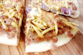 طرز تهیه پیتزا کرانچی تونا/غذا