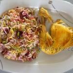 آموزش آلبالوپلو با مرغ /آشپزی