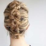 آموزش مدل موی زیبای پیچ لوله ای فرانسوی/بافت مو