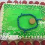 تزیین کیک به شکل جانماز/شیرینی