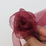 آموزش درست کردن گل با روبان بدون نیاز به دوخت/گل سازی