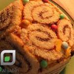 آموزش  کیک بستنی/شیرینی مخصوص عید