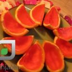 طرز تهیه  ژله با پوست پرتقال/ دسر