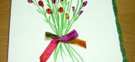 Ribbon-flower-card