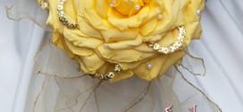 دسته گل زرد عروس مناسب فصل پاییز /وسایل مورد نیاز عروس