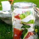 طرز تهیه    آب طعم دار هندوانه ای/نوشیدنی