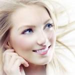 بهترین آرایش صورت با موی بلوند و پوست روشن/آرایش وزیبایی