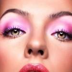 آرایش چشم صورتی برای روزهای خاص/آرایش وزیبایی