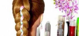 آموزش بافت مو با ربان/بافت مو